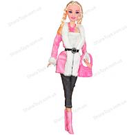 Кукла Ася Городской стиль Блондинка с косичками