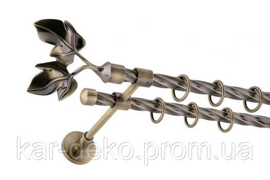 Карниз металлический кованный Галажка