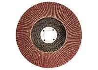 Круг лепестковый торцевой, P 100, 125 х 22,2 мм//MTX