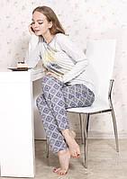 Пижама для женщины 546/S/серый в наличии S р., также есть: L,M,S,XL, Роксана_ЦС