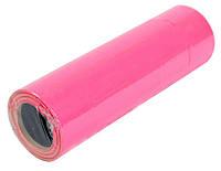 Ценник прямоугольный цветной (I-3) 36x29 малиновый, ручная наклейка (166 штук/ 6м) (TsH.P.I.m)