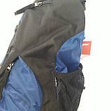 Стильный рюкзак сумка 20 л One Polar 1249 на одно плечо спортивный черно синий, фото 4