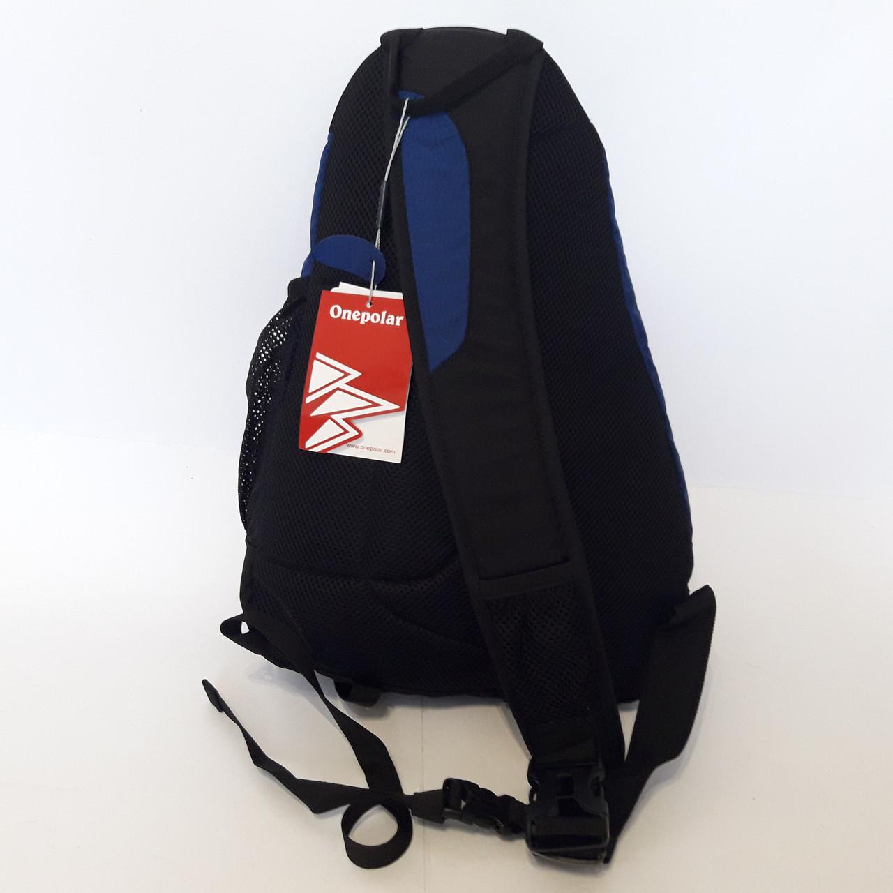 c25b8ec724fb ... Стильный спортивный рюкзак One polar W1249 на одно плечо 20 л прочный  качественный, ...