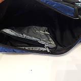 Стильный рюкзак сумка 20 л One Polar 1249 на одно плечо спортивный черно синий, фото 9