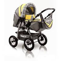 Коляска-трансформер Trans Baby Taurus 39/17 Light Gray / Yellow