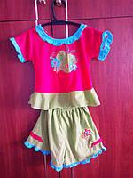 Детский костюмчик для девочки от 1 до 3 лет.