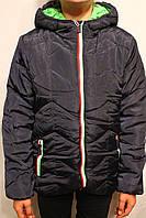Куртка осенне-зимняя мальчуковая на меху. Размеры по росту от 4 до 12лет. Фирма-Niebieski Польша.