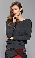Zaps осінь-зима 2017-2018 блузка ERIS 029 графіт