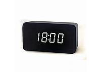 Настольные часы с белой подсветкой (VST-863-6)