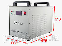 Чиллер, охолоджувач лазерних верстатів і фрезерних верстатів CW3000