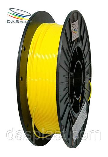 PLA пластик 500 г, желтый  1.75 мм,