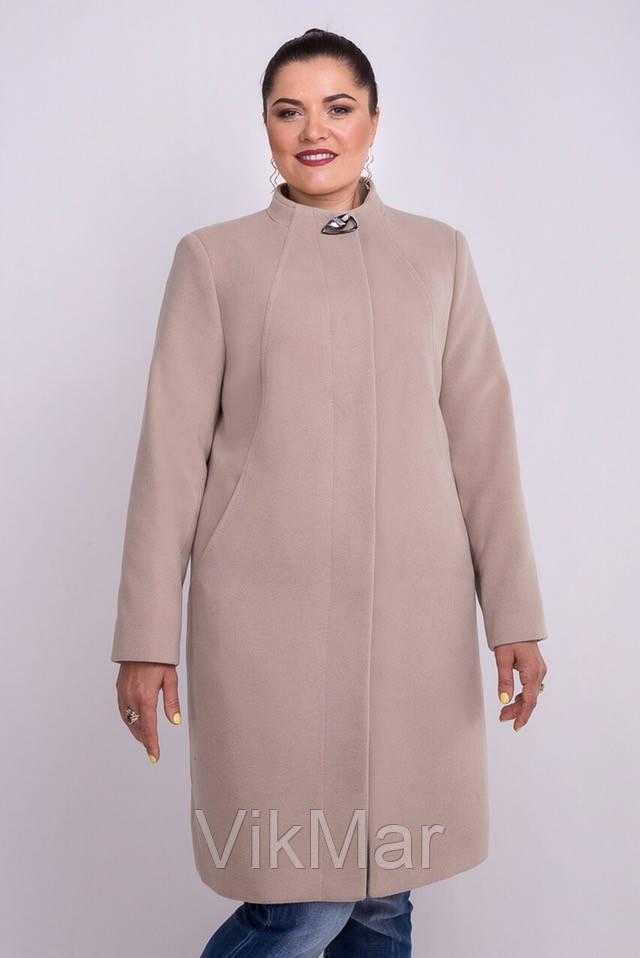 4f0c5727277 Женское кашемировое пальто больших размеров VikMar  продажа