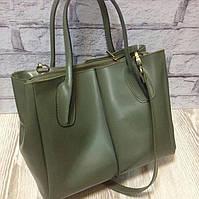 Женская  сумка кожа саквояж