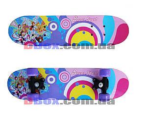 Скейт борд детский Smart Fairy (2T2023)