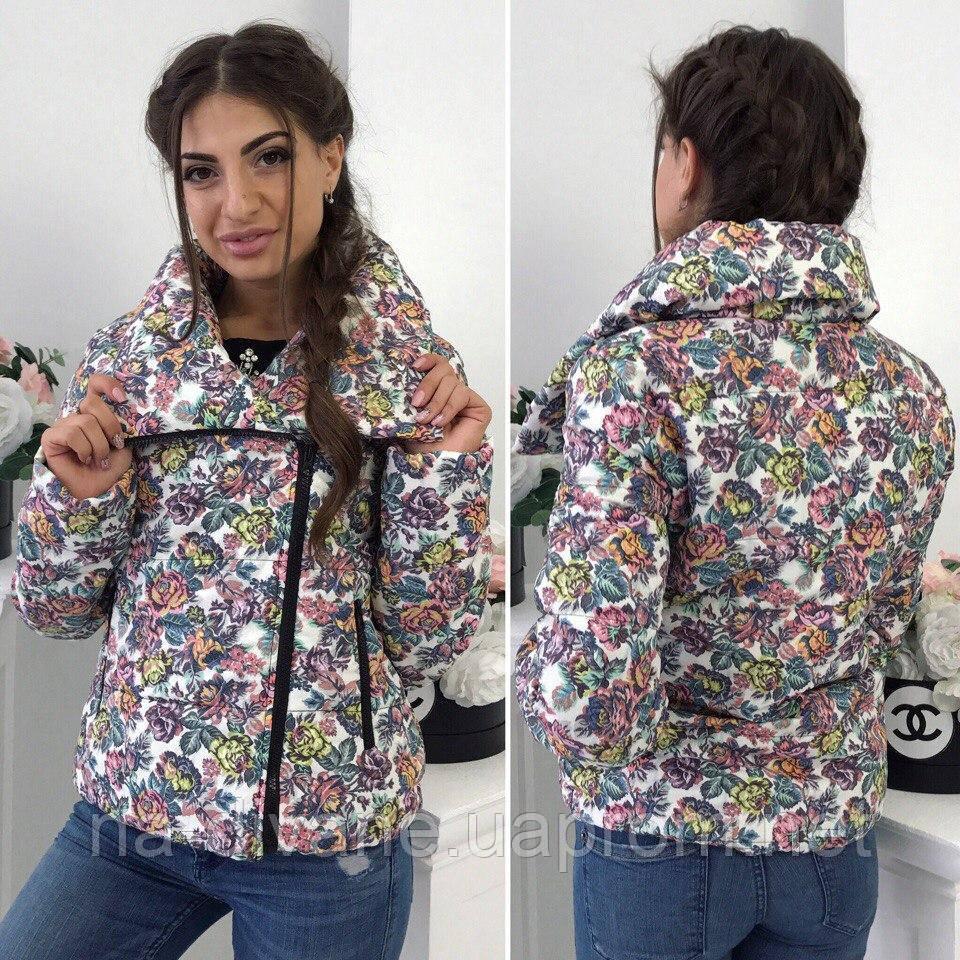 ab063bc1247 Женская демисезонная куртка 38- 2139