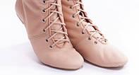 Туфли для современных танцев джазовки черная натуральная кожа 28р (18,0 см), 30р(19,0)в наличии!.