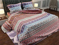 Полуторна постільна білизна з бязевої тканини  (Полуторное постельное бельё из бязи)