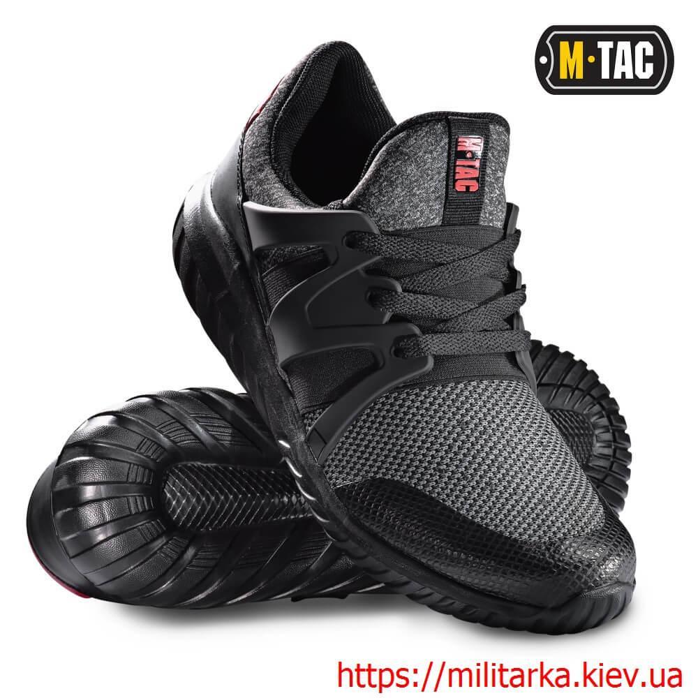 Кроссовки спортивные M-Tac TRAINER PRO black / grey