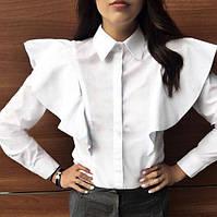 Женская блузка с воланами 01484 ХА
