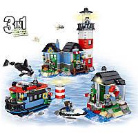 Конструктор Майнкрафт  Lele Minecraft 33017 Маяк 3 в 1 553 дет  (аналог LEGO Creator 31051)