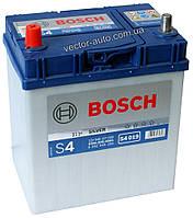 Аккумулятор BOSCH S4 019, 40Ah-12v, L+, EN330 (Asia) тонк. клеммы