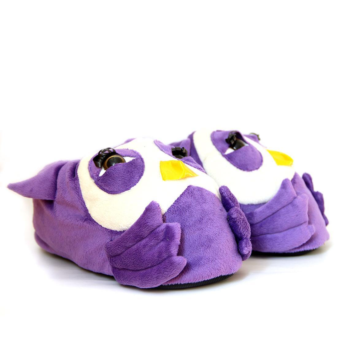"Мягкие тапочки-игрушки ""Совы"""