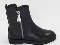 Ботинки женские зимние Wıt Mooni_WK1417C -D41- 7M - 1B черная кожа