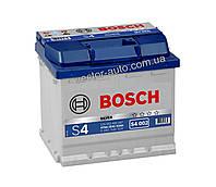 Аккумулятор BOSCH S4 002, 52Ah-12v, R+, EN470