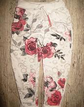 Спортивные брюки для девочки 12 лет цветы