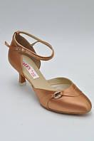 Туфли для танцев  женские Стандарт Галекс цвет бежевый