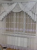 Ламбрекен из шторной ткани №312, фото 2