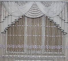 Ламбрекен из шторной ткани №312, фото 3