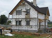 Утепление стен домов, квартир, котеджей. Отделка фасадов декоративными элементами любой сложности. Покраска.