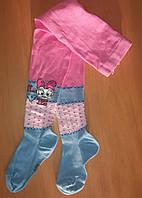 Дитячі колготи GATTA розмір 104-110 колір рожевий