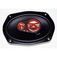 Автомобильная акустика, колонки MEGAVOX MET-9674  (300W) 3х полосные