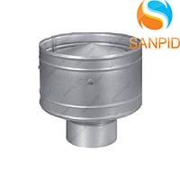 Дефлектор дымохода из нержавейки (0,5мм)
