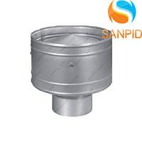 Дефлектор дымохода из нержавейки (0,5мм) Ø100