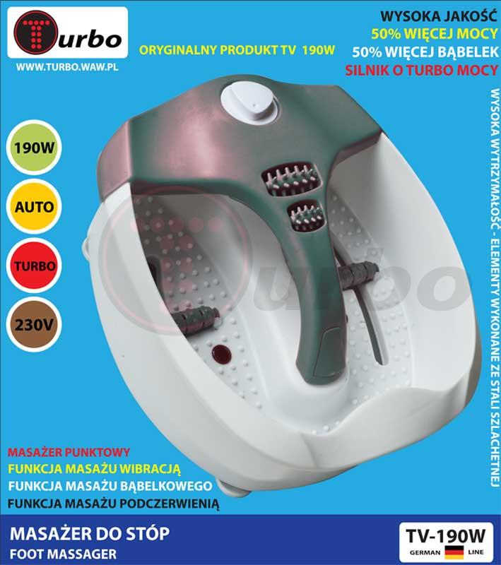 Ванночка для ног Turbo TV-190W