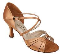 Туфли для танцев  женские Латина Галекс Амалия 24р каблук 5 см.