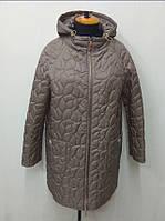 Куртка женская осенняя  П-65 темный беж