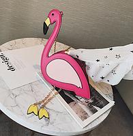 Сумочка  Розовый фламинго