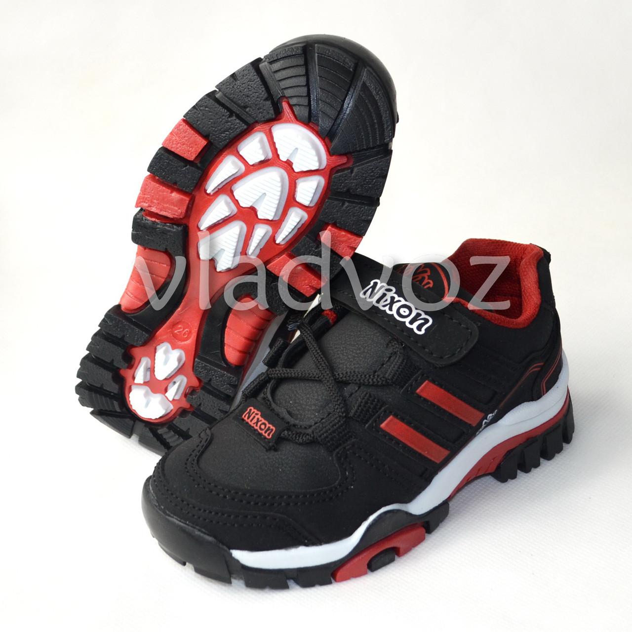 Кроссовки для мальчика черная модель