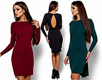 Вечернее платье с вырезом на спине (42-46 в расцветках)