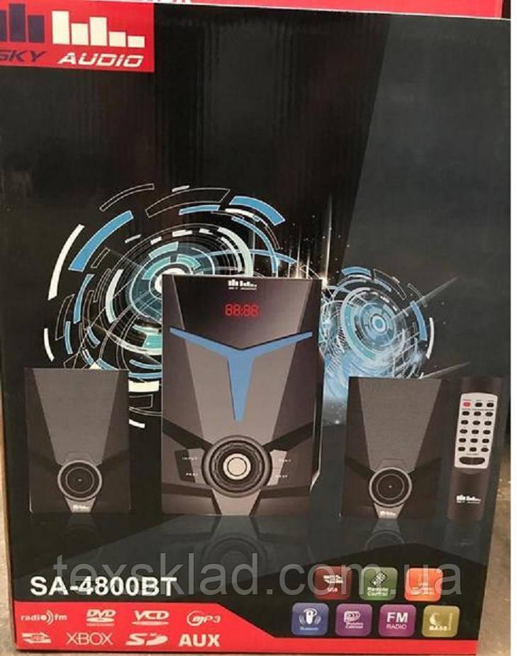 Музыкальный центр 2.1 Sky Audio SA-4800BT (USB//Bluetooth/FM-радио)