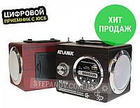 Радиоприемник радио с флешкой USB FM ФМ ATLANFA AT-R52