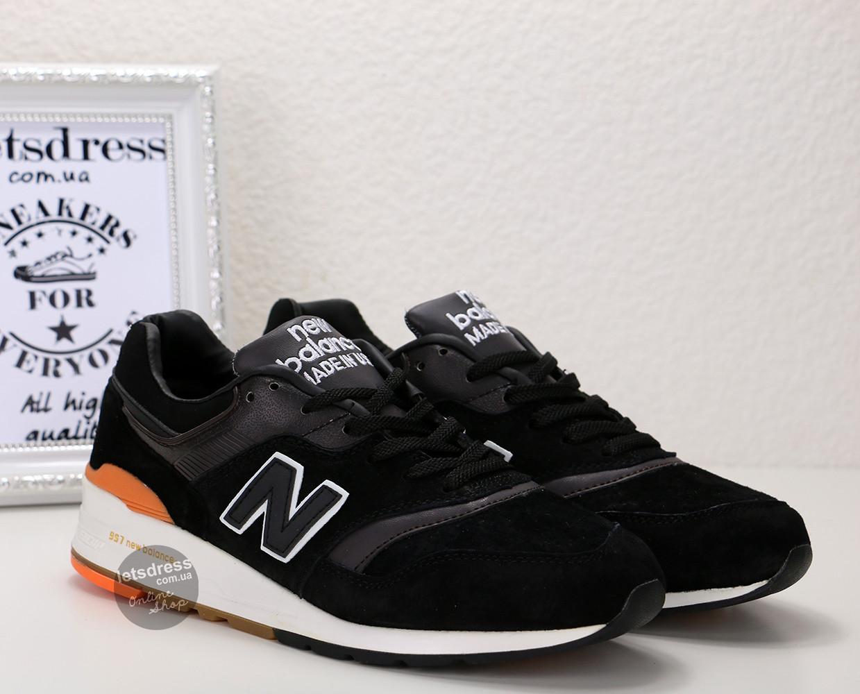 Кроссовки мужские New Balance 997 Autors collection оригинал | Нью Баланс 997 Ауторс мужские черные