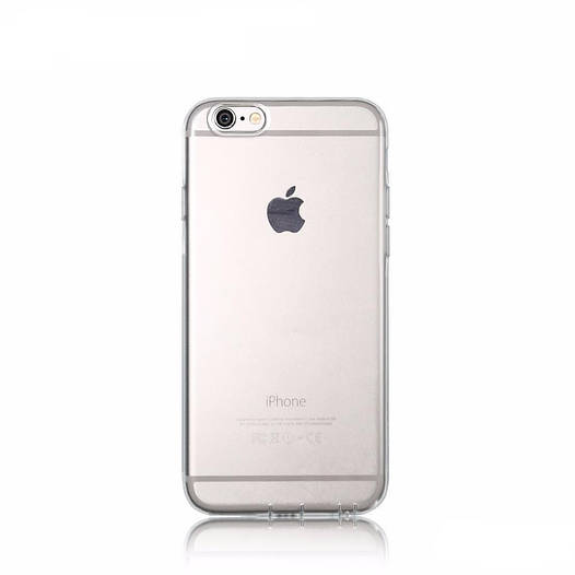 Чехол Remax Crystal TPU IPhone 6 Plus Silver