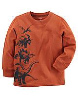 Реглан Carters на мальчика 4-8 лет Long-Sleeve Dinosaur