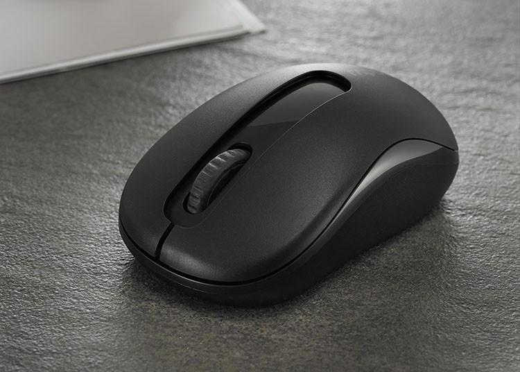 Компактная беспроводная мышь Rapoo M218/M10 Wireless Mouse Black