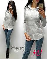 Реглан имитация рубашки